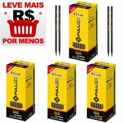 PROMOÇÃO 4 Caixas de Lápis Grafite FULL HB Nº 2 sem borracha - 220.0020
