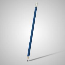 Lápis Resinado Grafite Azul Médio Com Borracha - 000.7525