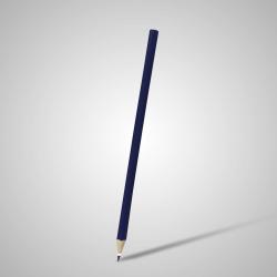 Lápis Resinado Grafite Azul Marinho Sem Borracha - 000.7787